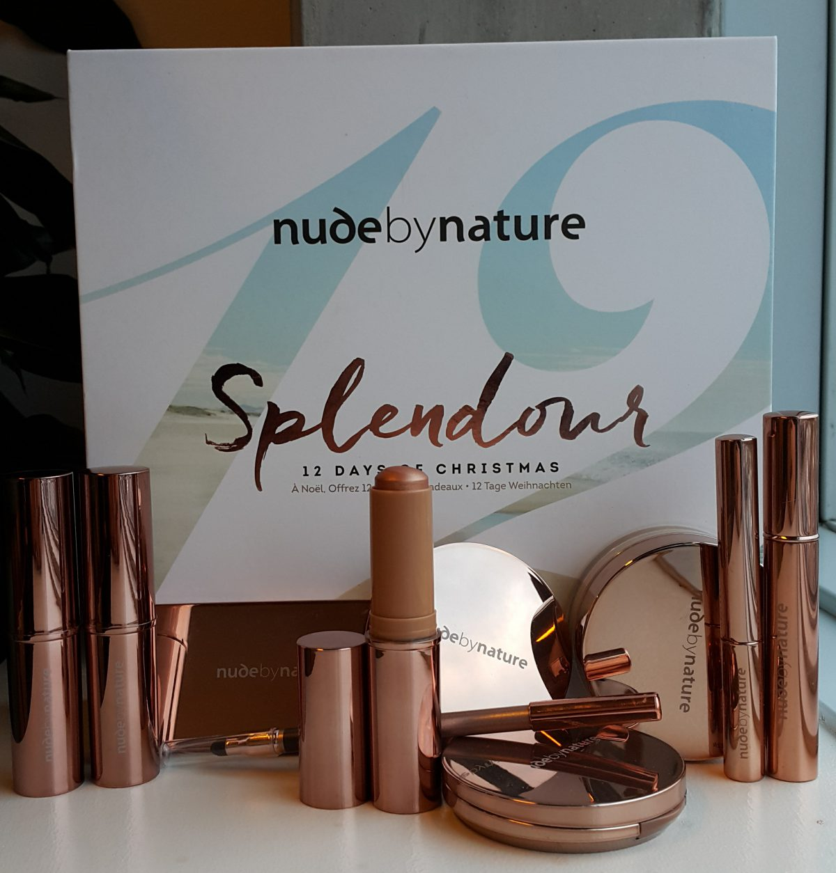 Nude by Nature – 12 days of Xmas calendar